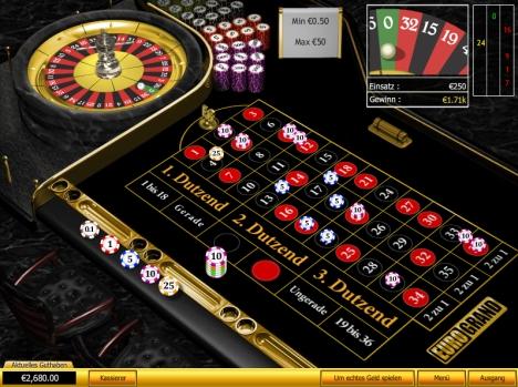 Eurogrand Roulette Trick
