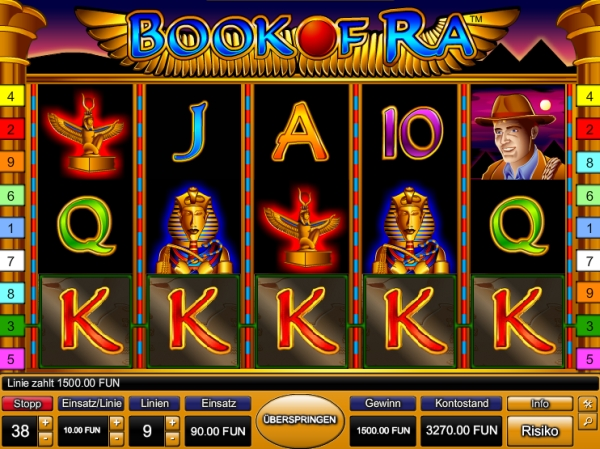 book of ra casino spiel